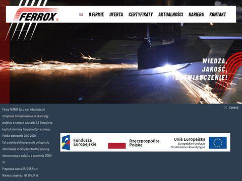 Instalacje ciepłownicze - Ferrox Białystok