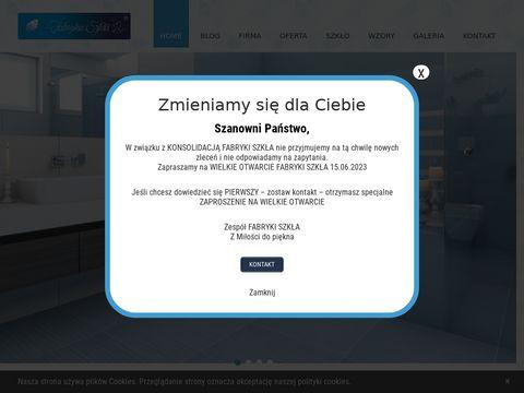Fabrykaszkla24.pl szklane panele dekoracyjne