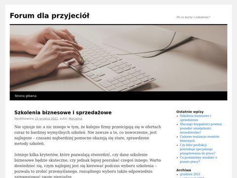 Forumdlaprzyjaciol.net.pl ogólnotematyczne