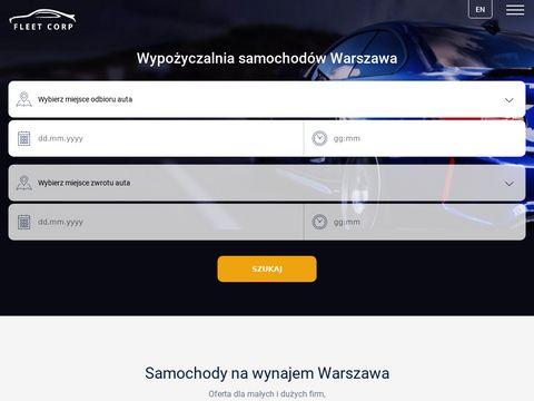 Fleetcorp.pl - wypożyczalnia samochodów Warszawa