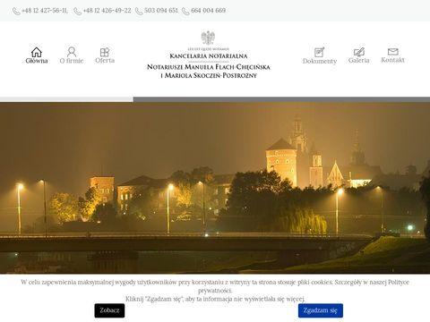 Notariusz Manuela Flach-Chęcińska