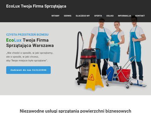 EcoLux pranie wykładzin i dywanów Warszawa