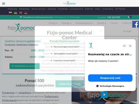 Masaże i rehabilitacja w Szczecinie