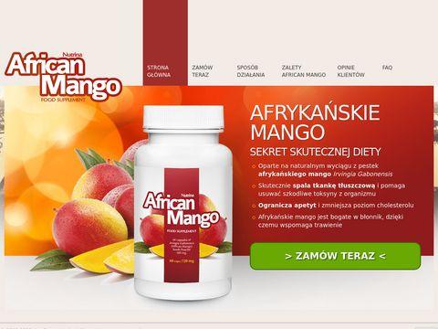 Afrykańskie mango na odchudzanie