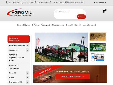 Maszyny rolnicze i części do ciągników