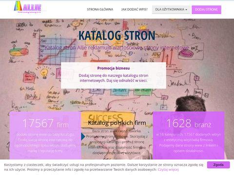 Allie.pl spis stron