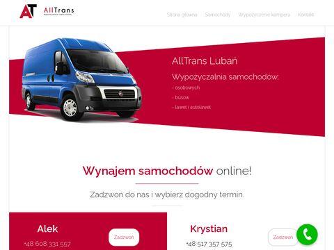 Alltrans24.pl wynajem aut Zgorzelec