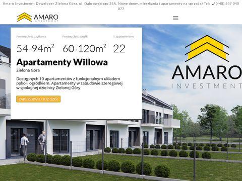 Amaro Investment - domy i mieszkania
