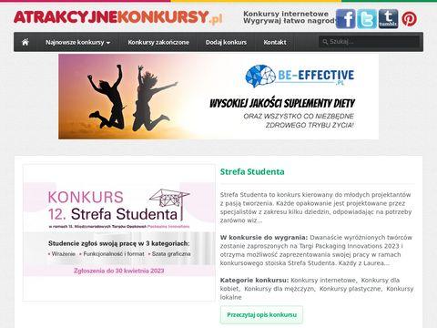 Konkursy z nagrodami Atrakcyjnekonkursy.pl