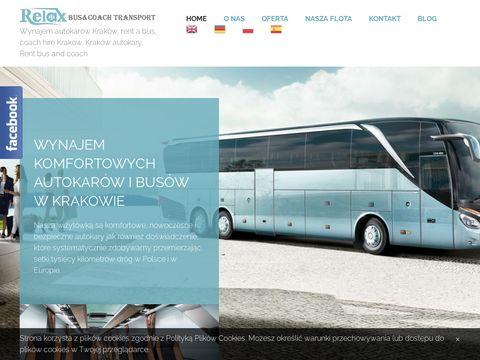 Relax - komfortowe autokary i busy