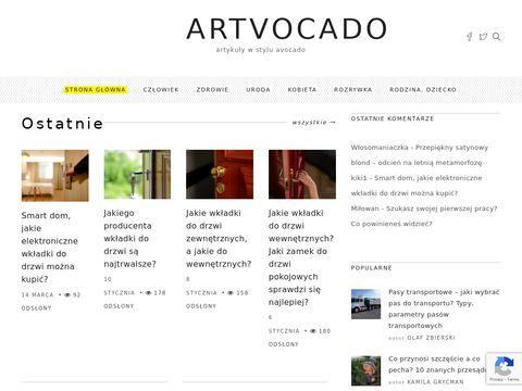 Poczytaj o kosmetykach na Artvocado.pl