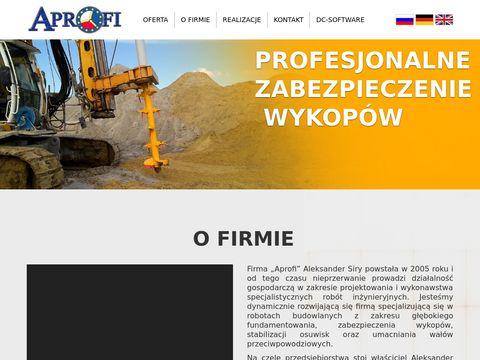 Aprofi - osprzęt i usługi budowlane