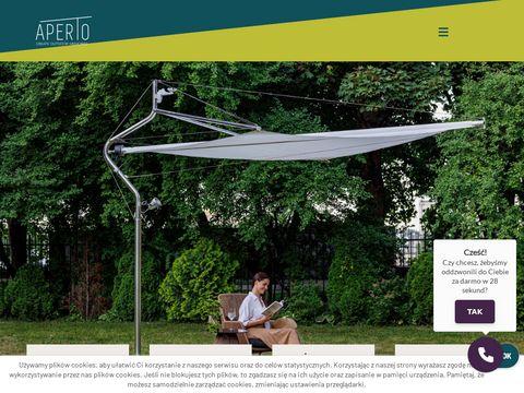 Aperto.pl - producent pergoli i markiz