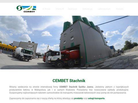 Cembet - betoniarnia Kraków