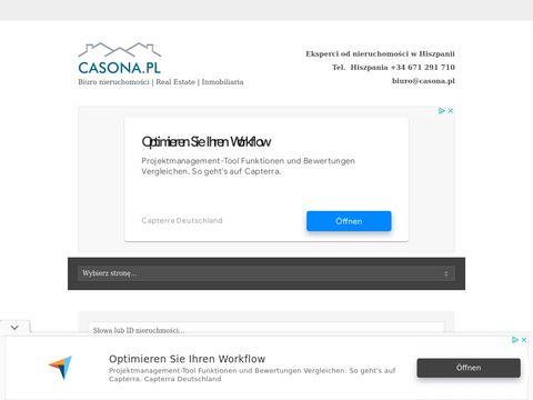 Casona biuro nieruchomości w Hiszpanii