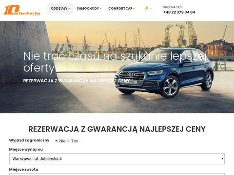 Comfortcar.pl wynajem samochodów Warszawa