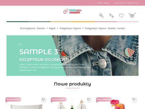 Childsplay.pl - tu kupisz zabawki