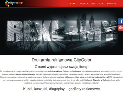 Drukarnia Kielce CityColor