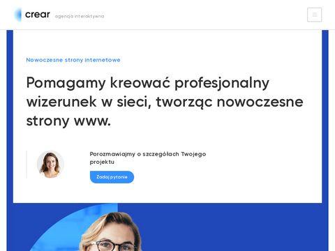 Crear.pl tworzenie stron Poznań