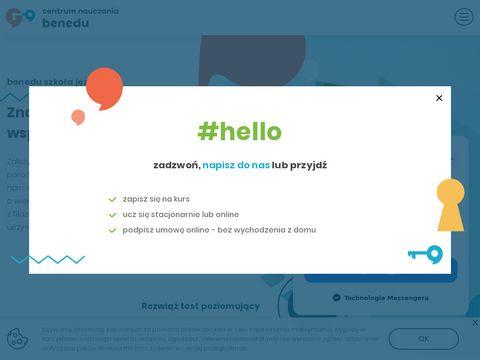 Benedu.pl - angielski dla dzieci Pruszków