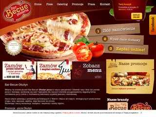Bar-Becue Olsztyn pizza