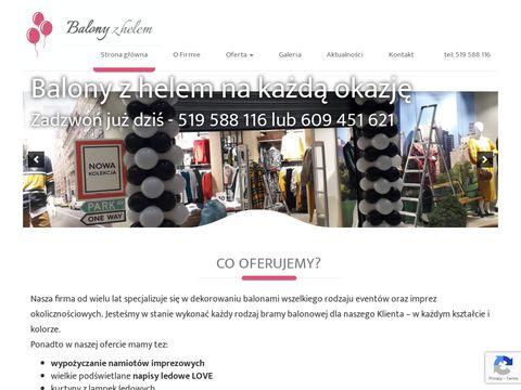 Balonyzhelem.biz.pl - girlandy Łódź