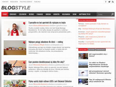 Zobacz 5 pomysłów na zabawy na blogstyle.pl