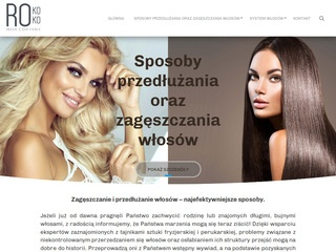 Zageszczaniewlosow.pl - sprzedaż włosów