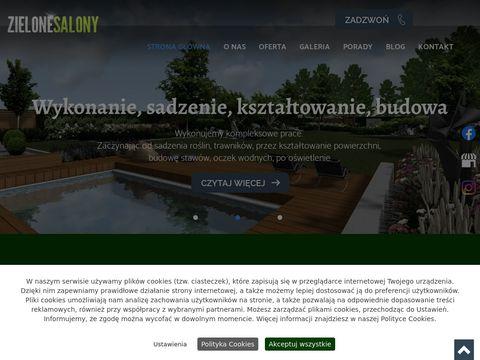 Zakładanie ogrodów Łódź - zielonesalony.pl
