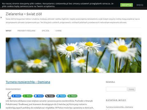 Zielarenka.pl blog o ziołach, ziołolecznictwo