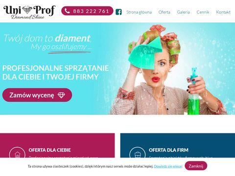 Uniprof-sprzatanie.pl pranie dywanów Myszków