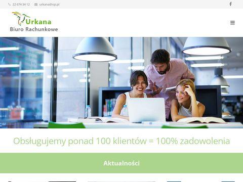 Urkana.com.pl biuro rachunkowe Warszawa