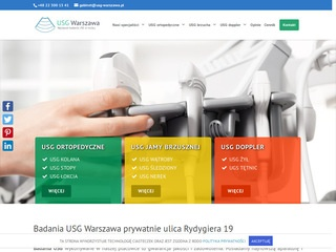 Usg Warszawa - bodymove