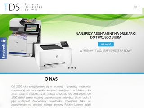 Tds.biz.pl - tonery sklep online