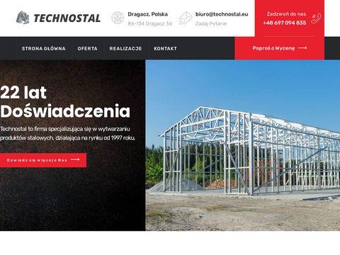 Technostal.eu - walcowanie stożków