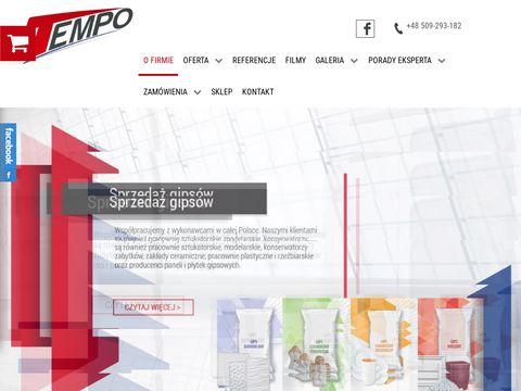 Tempo-spj.pl - wylewki anhydrytowe