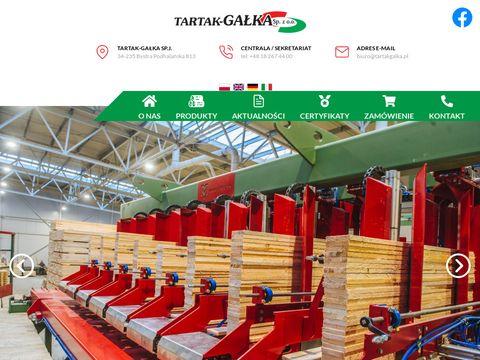 Tartakgalka.pl producent palet