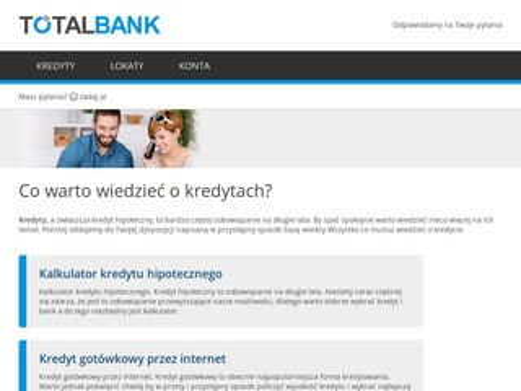 TotalBank.pl - promocje bankowe
