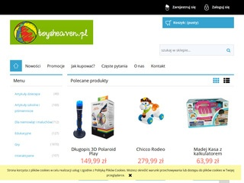 Toysheaven.pl zabawki Warszawa