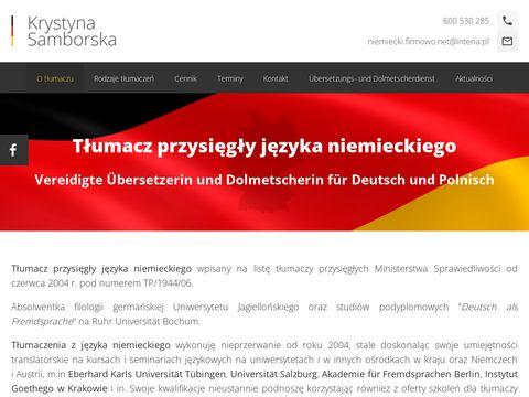 Tlumaczprzysiegly-niemiecki.pl Rzeszów