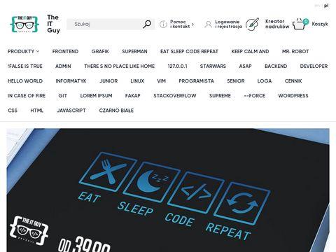 TheITGuy.pl kubki koszulki dla programistów