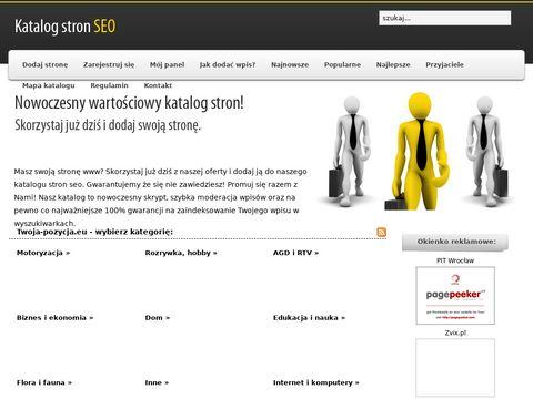 Katalogowanie w twoja-pozycja.eu