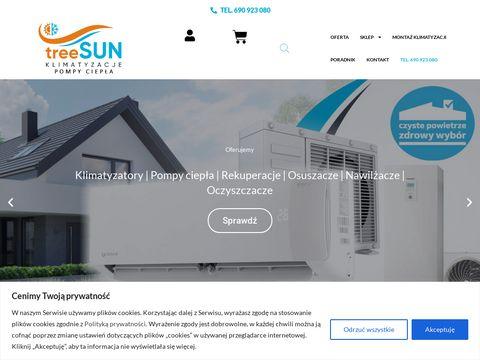 TreeSUN montaż klimatyzacji
