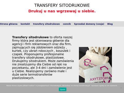 Transferowy.pl transfery sitodrukowe w Lublinie