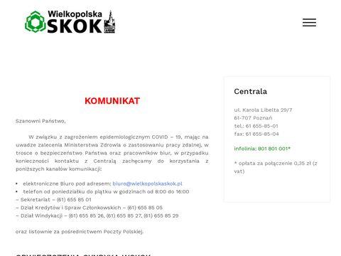 Wielkopolska SKOK - załóż konto, lokatę