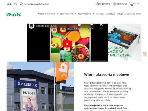 Akcesoria meblowe - wior.pl