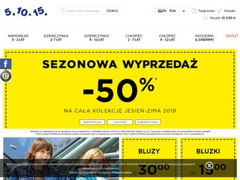 Ubrania dziecięce - sklep internetowy 51015kids.eu