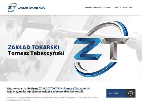 Zaklad-tokarski.pl - usługi CNC