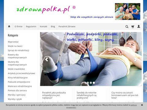 Zdrowapolka.pl - podkład na łóżko nieprzemakalny