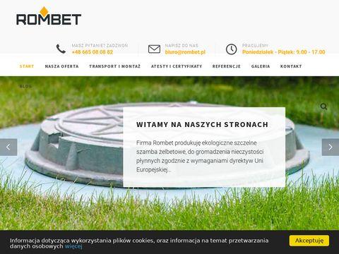 Rombet.pl - szambo